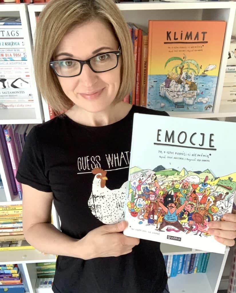 recenzja ksiazki dla dzieci emocje tooczym dorosli ci niemowia klimat ksiazka dla 11 latka komiks anna jankowska