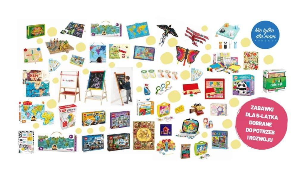 zabawki dla 5 latka kreatywne prezenty dla pieciolatka zabawki dla dzieci