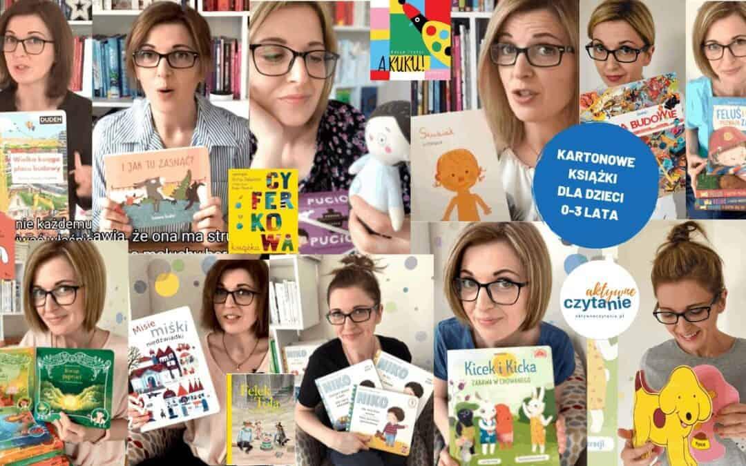 Najlepsze książki KARTONOWE dla dzieci naroczek, dla 2-latka i3-latka