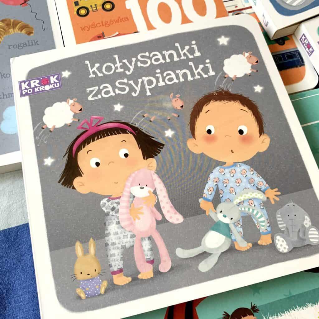 kolysanki zasypianki krok pokroku ksiazki dla dzieci