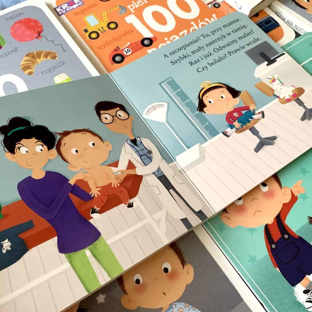 krok pokroku dzielny pacjent recenzja ksiazki dla dzieci
