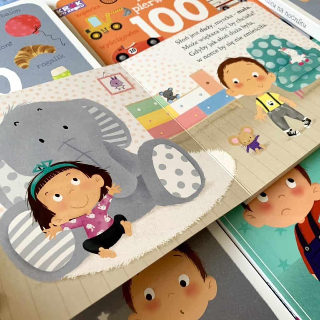 krok pokroku przeciwienstwa recenzja ksiazki dla dzieci