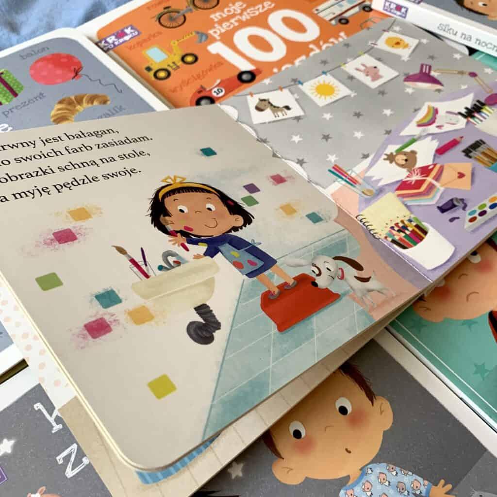 krok pokroku sprzatamy recenzja ksiazki dla dzieci