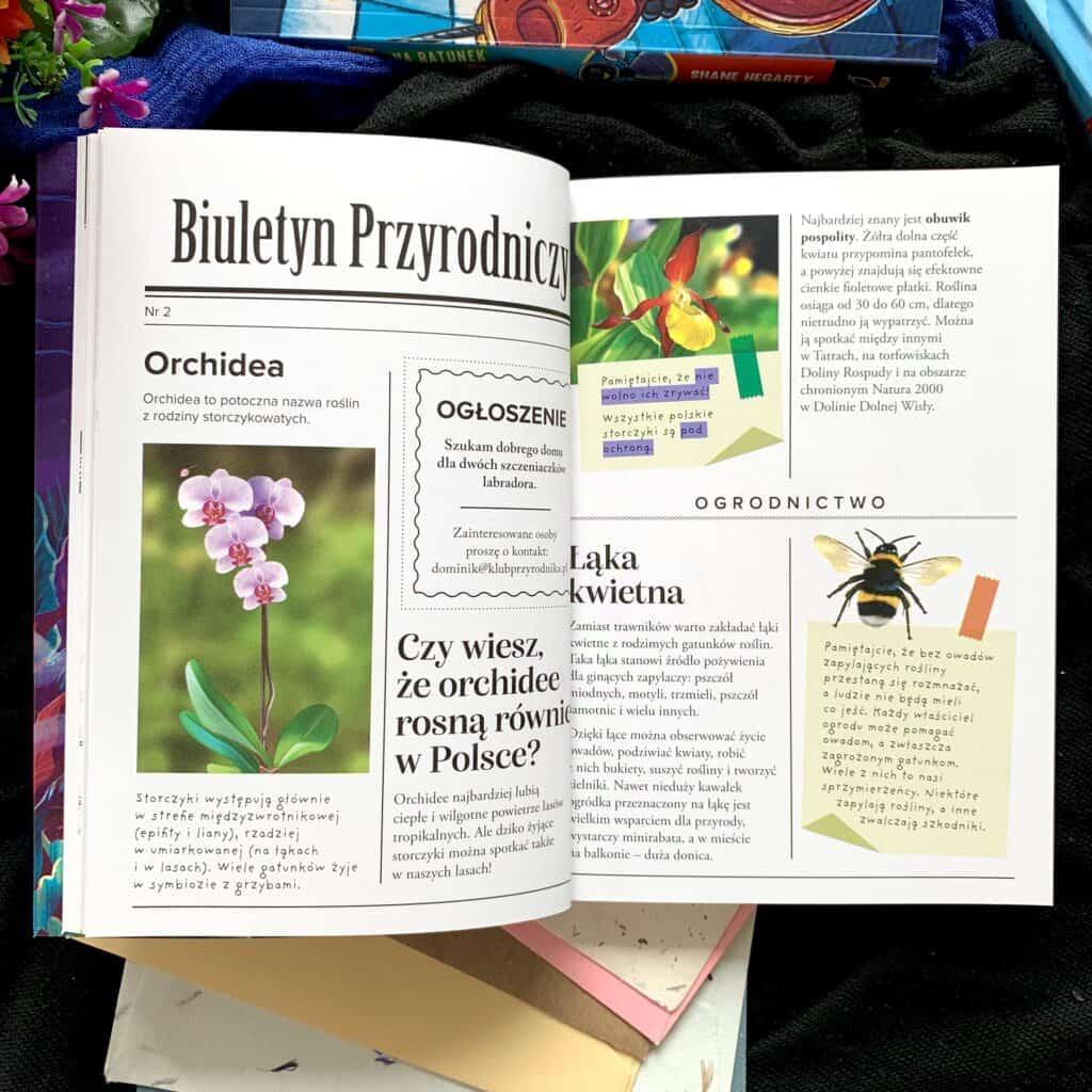 ksiazki dla 12-13-14-latkow zagadka purpurowej orchidei wilga recenzja ksiazki dla dzieci67