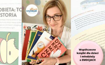 NOWE iwspółczesne książki oemocjach dla dzieci imłodzieży