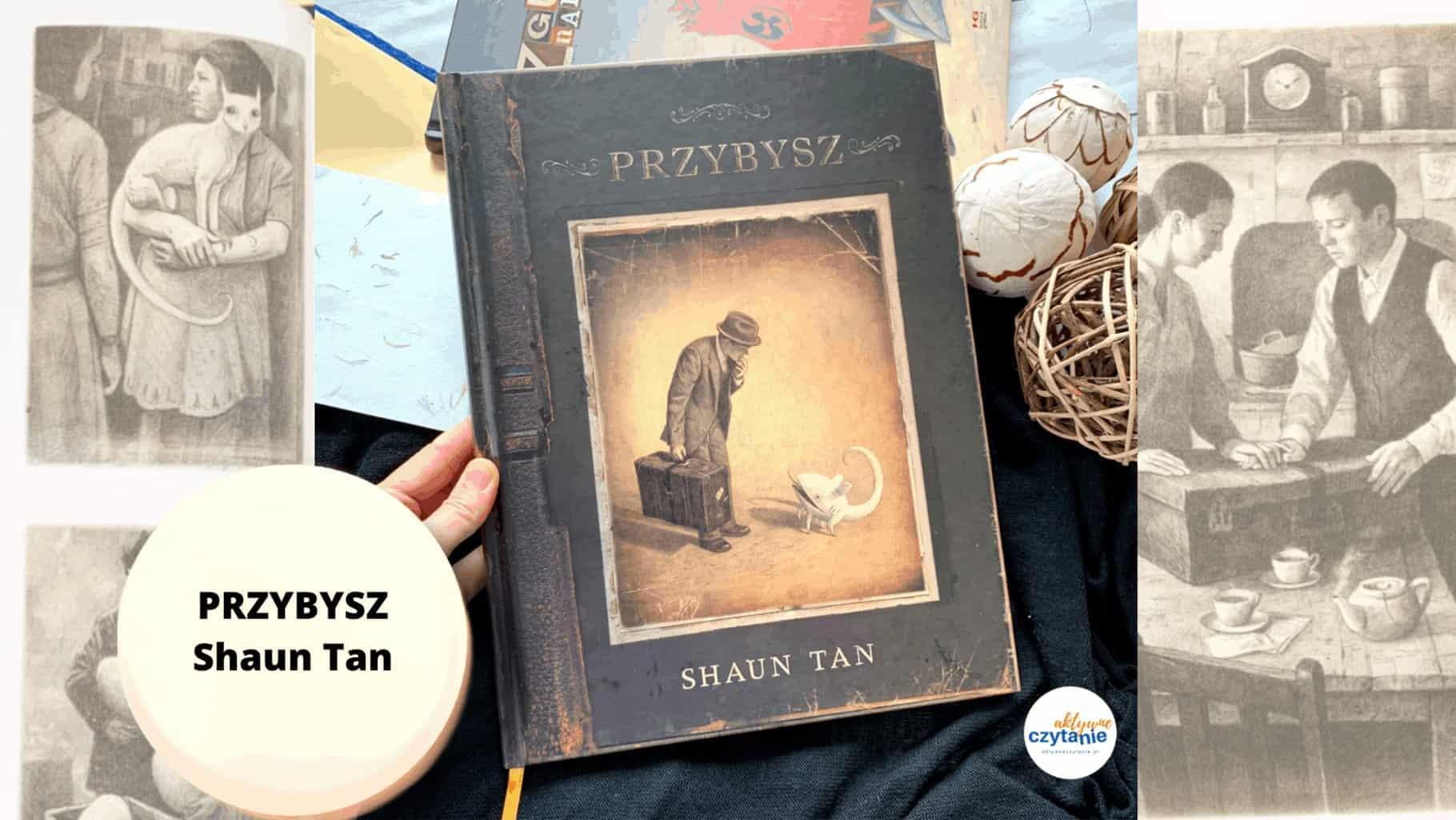 recenzja ksiazki przybysz shun tan