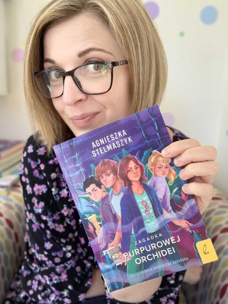zagadka purpurowej orchideii recenzja ksiazki dla dzieci 11-14 lat