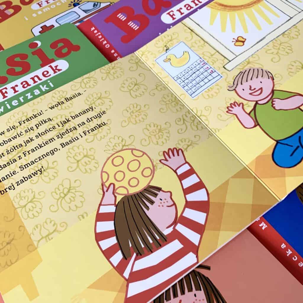 basia franek ikolory recenzja ksiazki dla dzieci