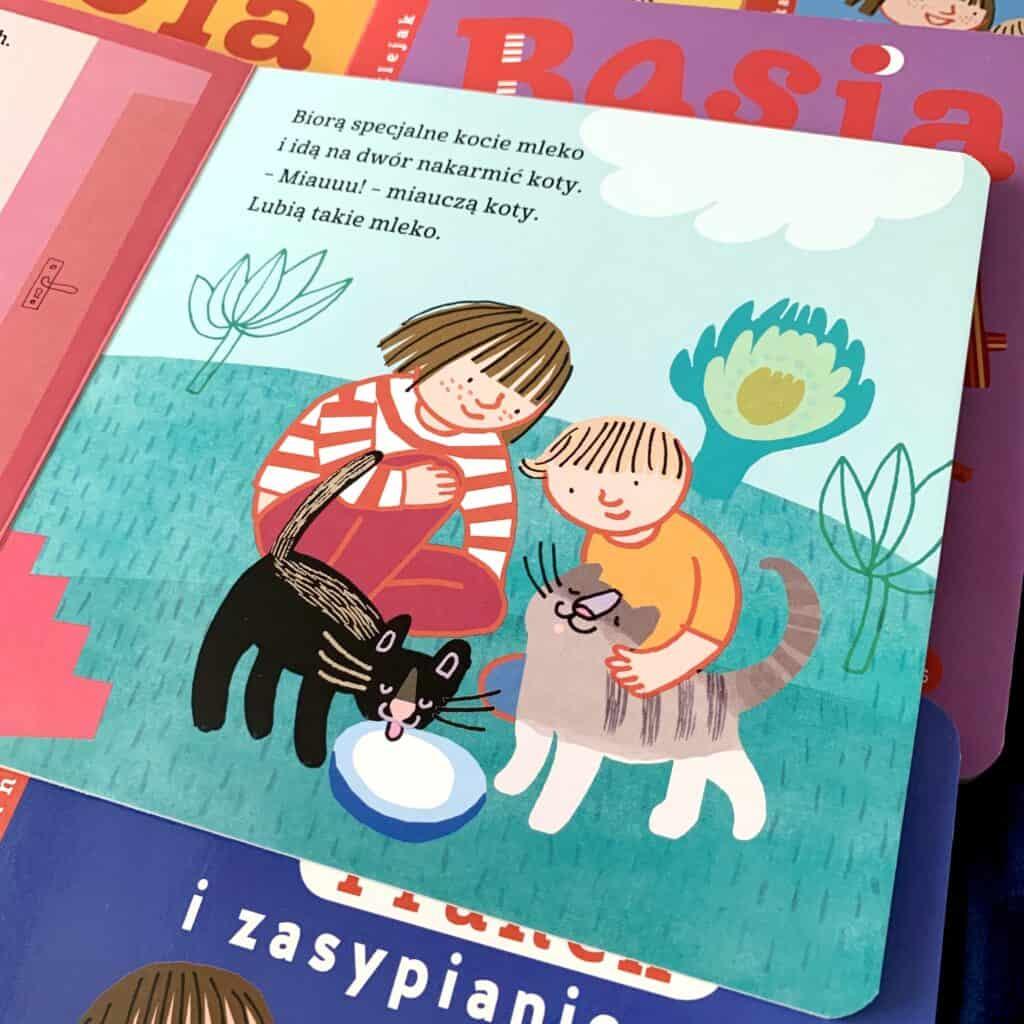 basia franek izwierzaki recenzja ksiazki dla dzieci