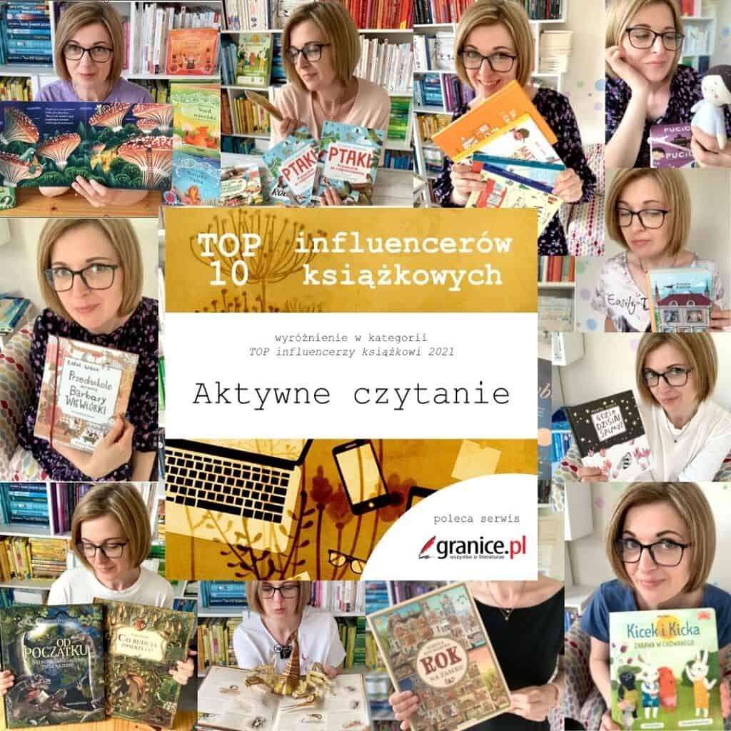 blog aktywne czytanie ksiazki dla dzieci top 10 influencerow ksiazkowych