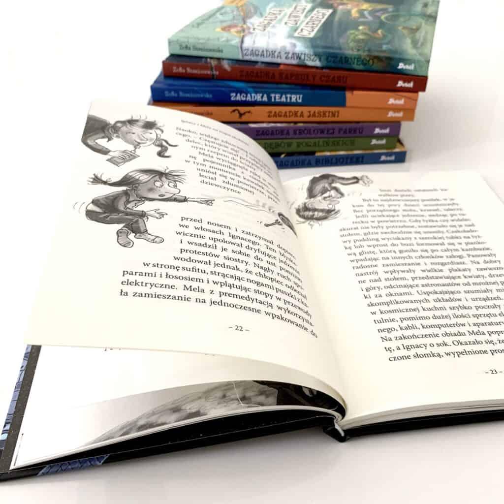 recenzja ignacy imela natropie zlodzieja ksiazki dla dzieci