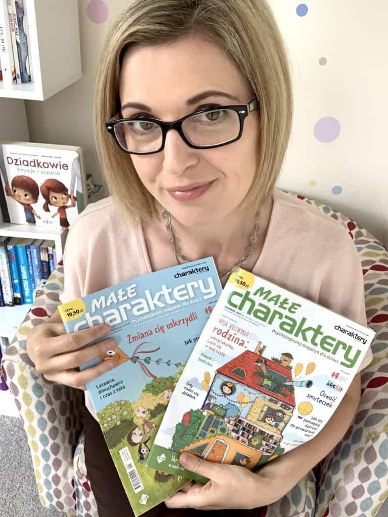 male charaktery czasopismo psychologiczne dla dzieci recenzja co wsrodku