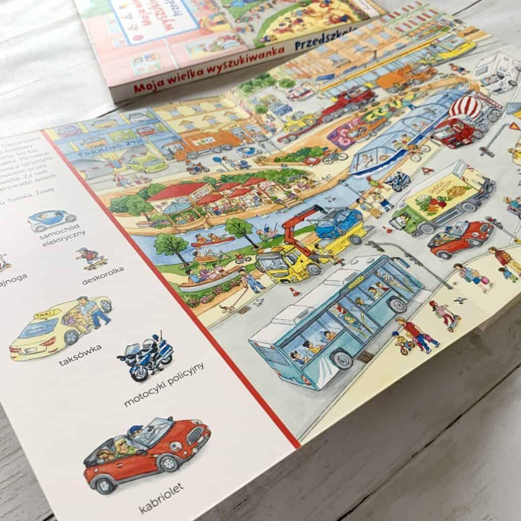 moja wielka wyszukiwanka pojazdy ksiazki dla dzieci wyszukiwanki