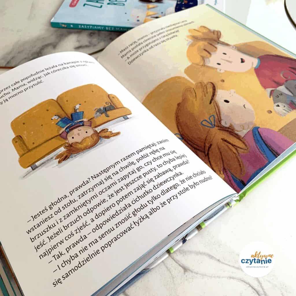 zasypiamy bezmamy recenzja ksiazki dla dzieci