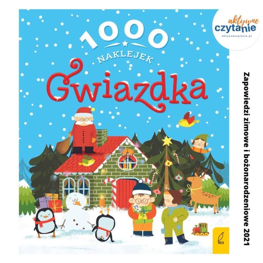 100 naklejek gwiazdka zapowiedzi ksiazki dla dzieci zima 2021