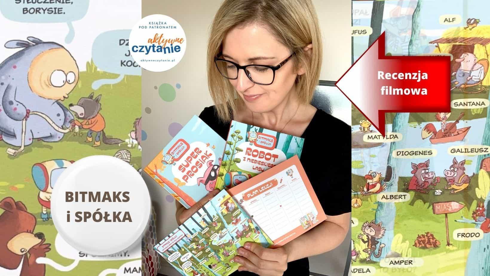 bitmaks ispolka recenzja komiksy donauki czytania ksiazki dla dzieci anna jankowska