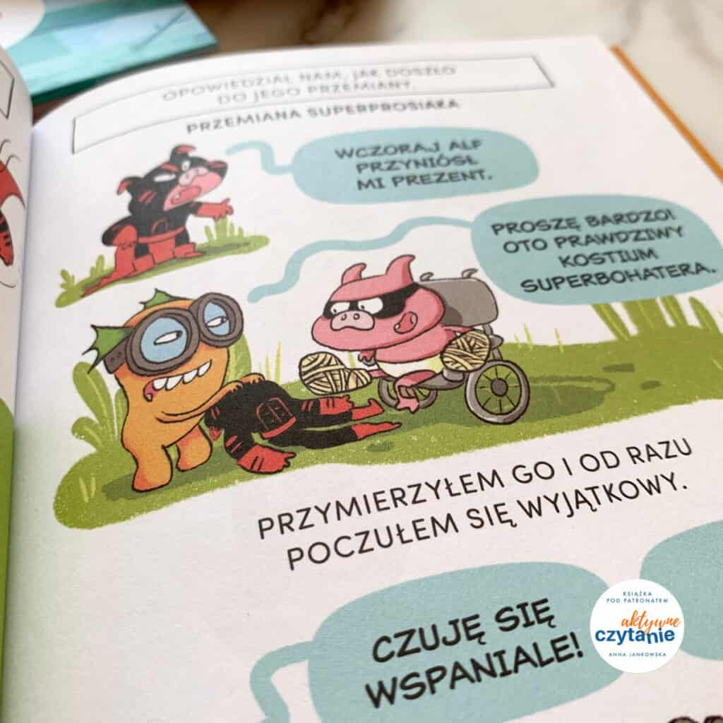 bitmaks ispolka super robot komiksy donauki czytania recenzja ksiazki dla dzieci11