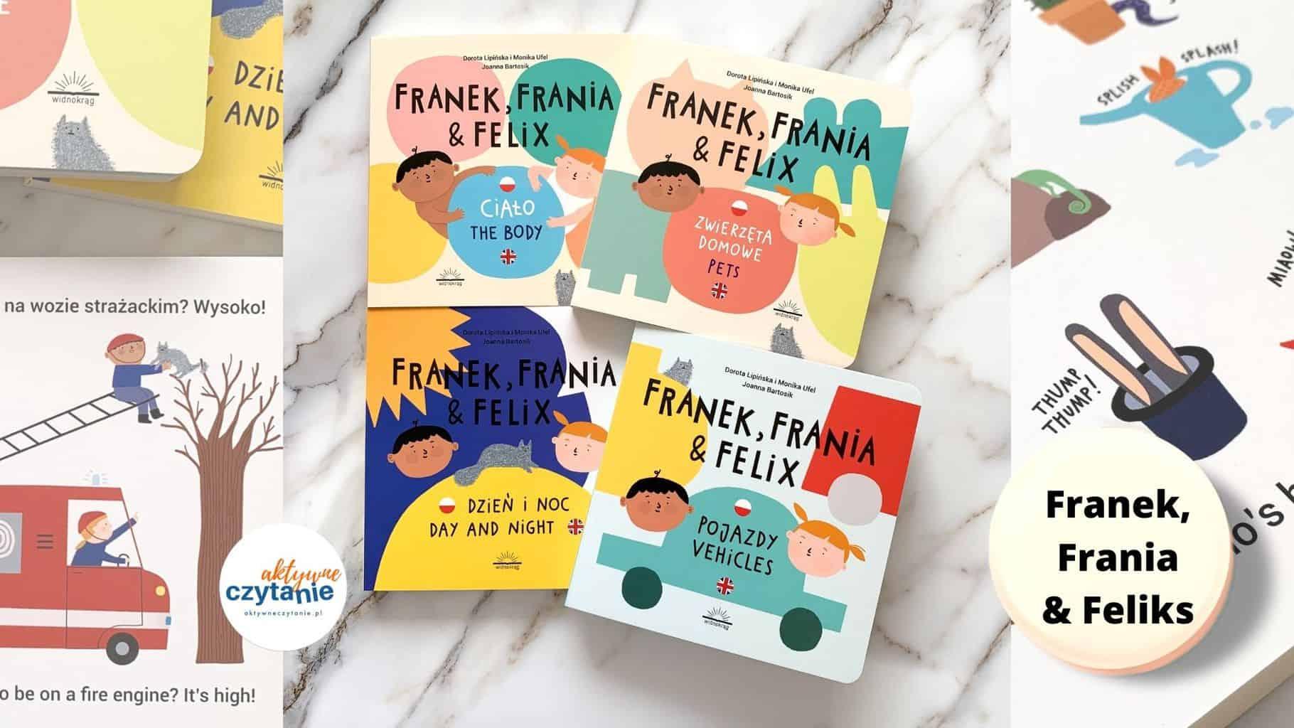 franek frania ifeliks recenzja ksiazeczki dla dzieci