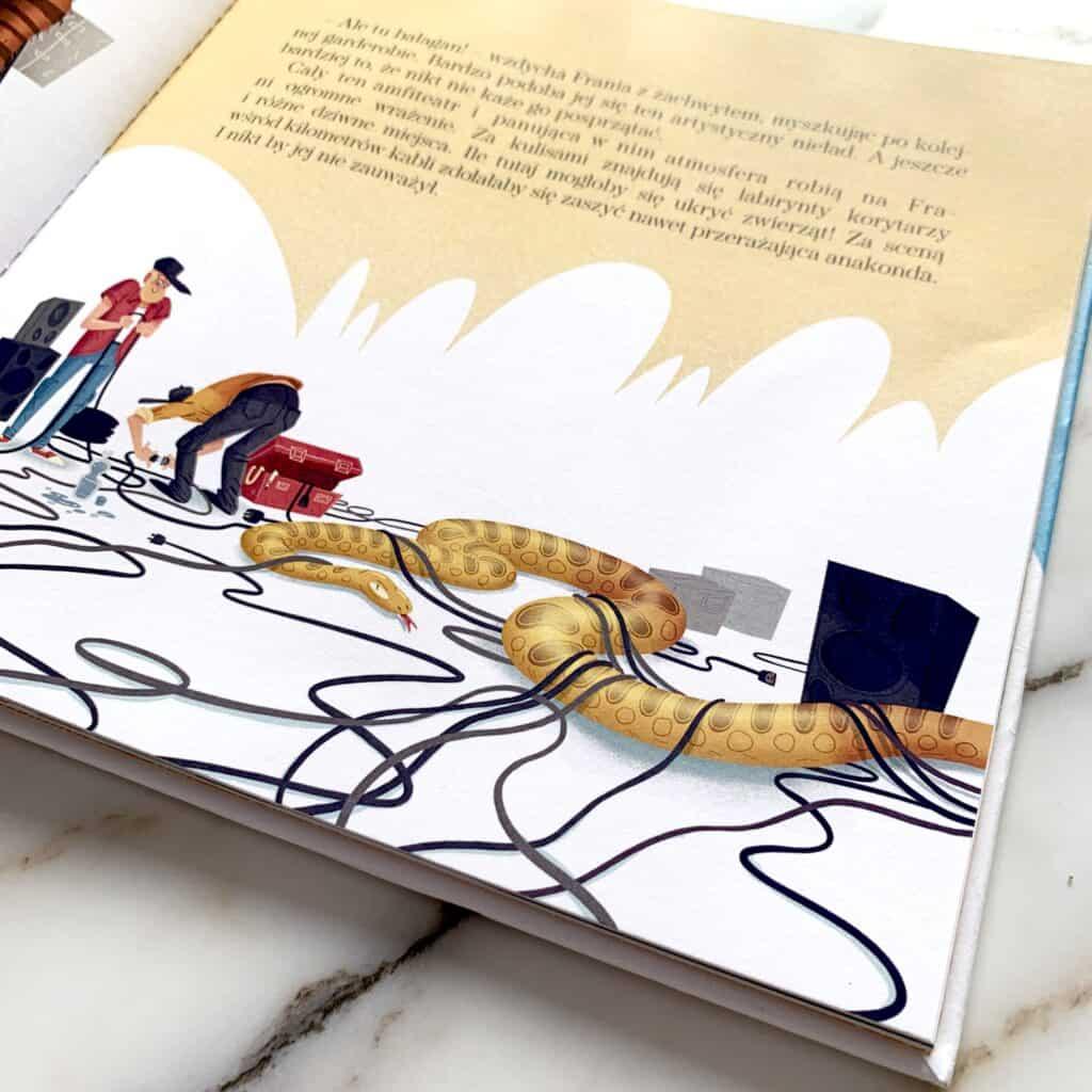 frania wamfiteatrze recenzja ksiazki dla dzieci
