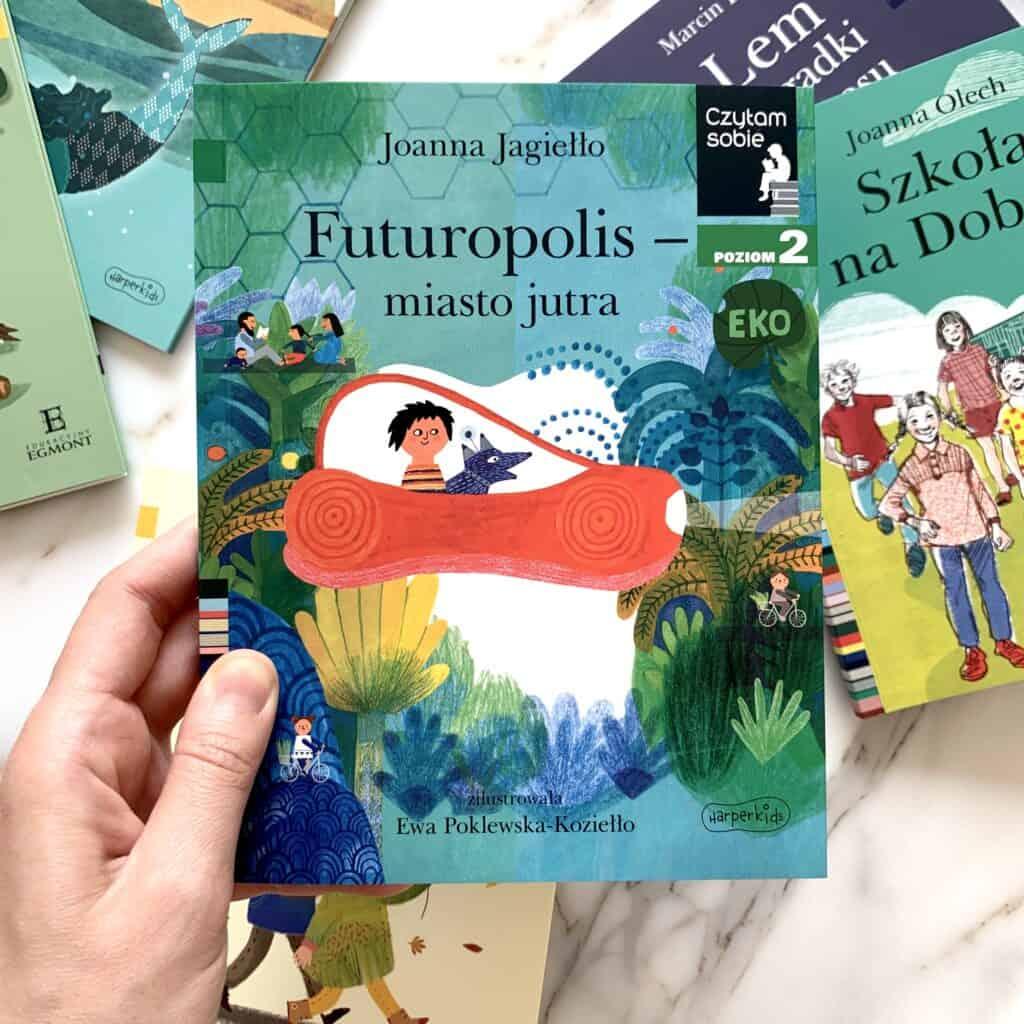 futuropolis miasto jutra ksiazki donauki czytania seria czytam sobie recenzja