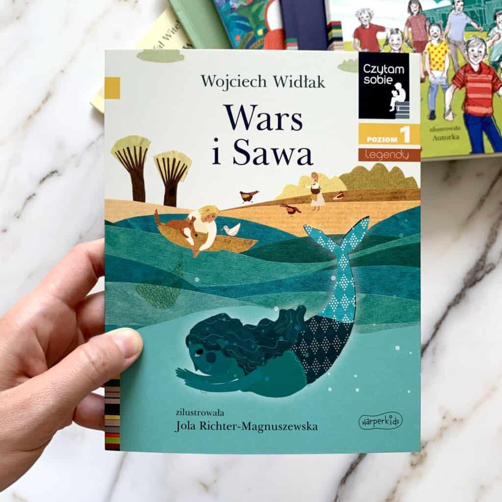 wars isawa czytam sobie recenzja ksiazki dla dzieci donauki czytania