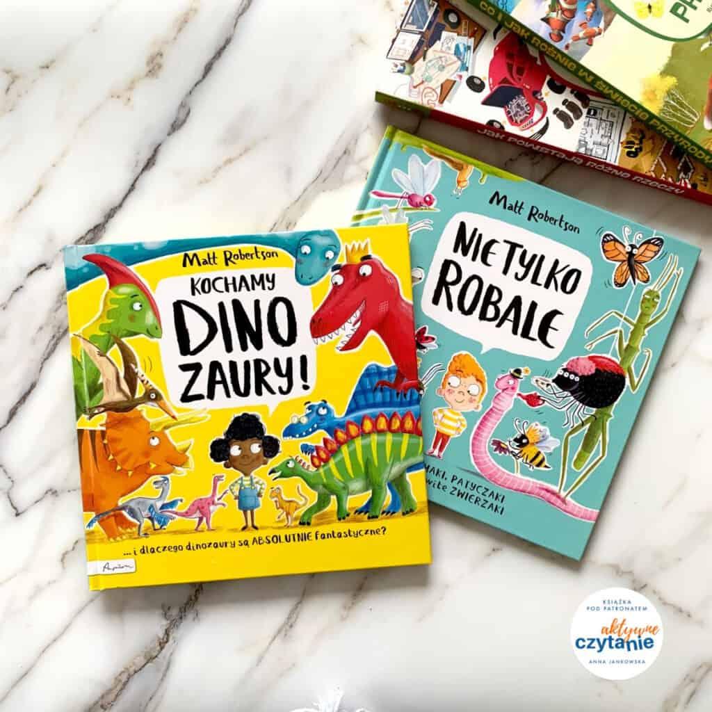 kochamy dinozaury ksiazka dla dzieci recenzja nietylkorobale