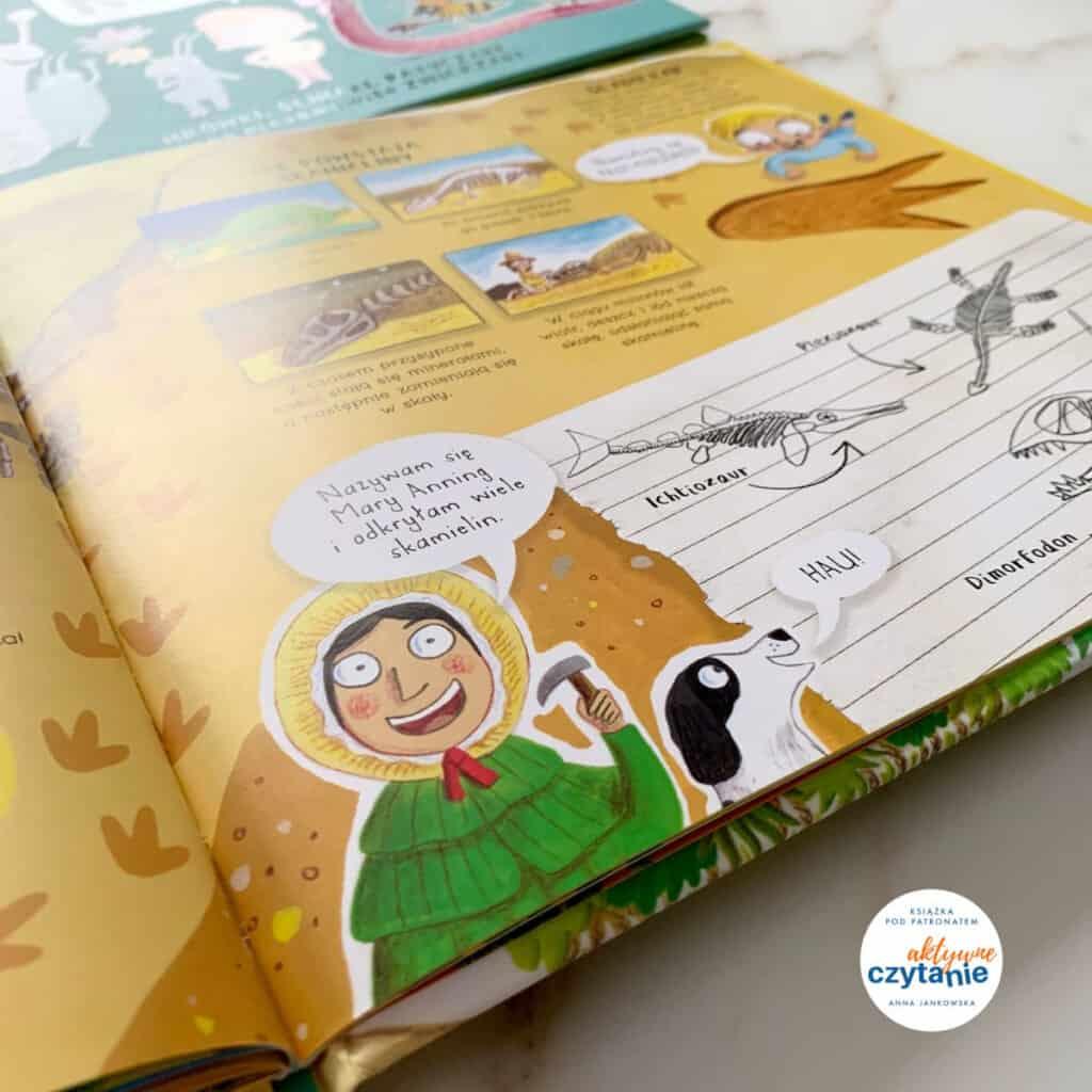 kochamy dinozaury recenzja ksiazki dla dzieci papilon