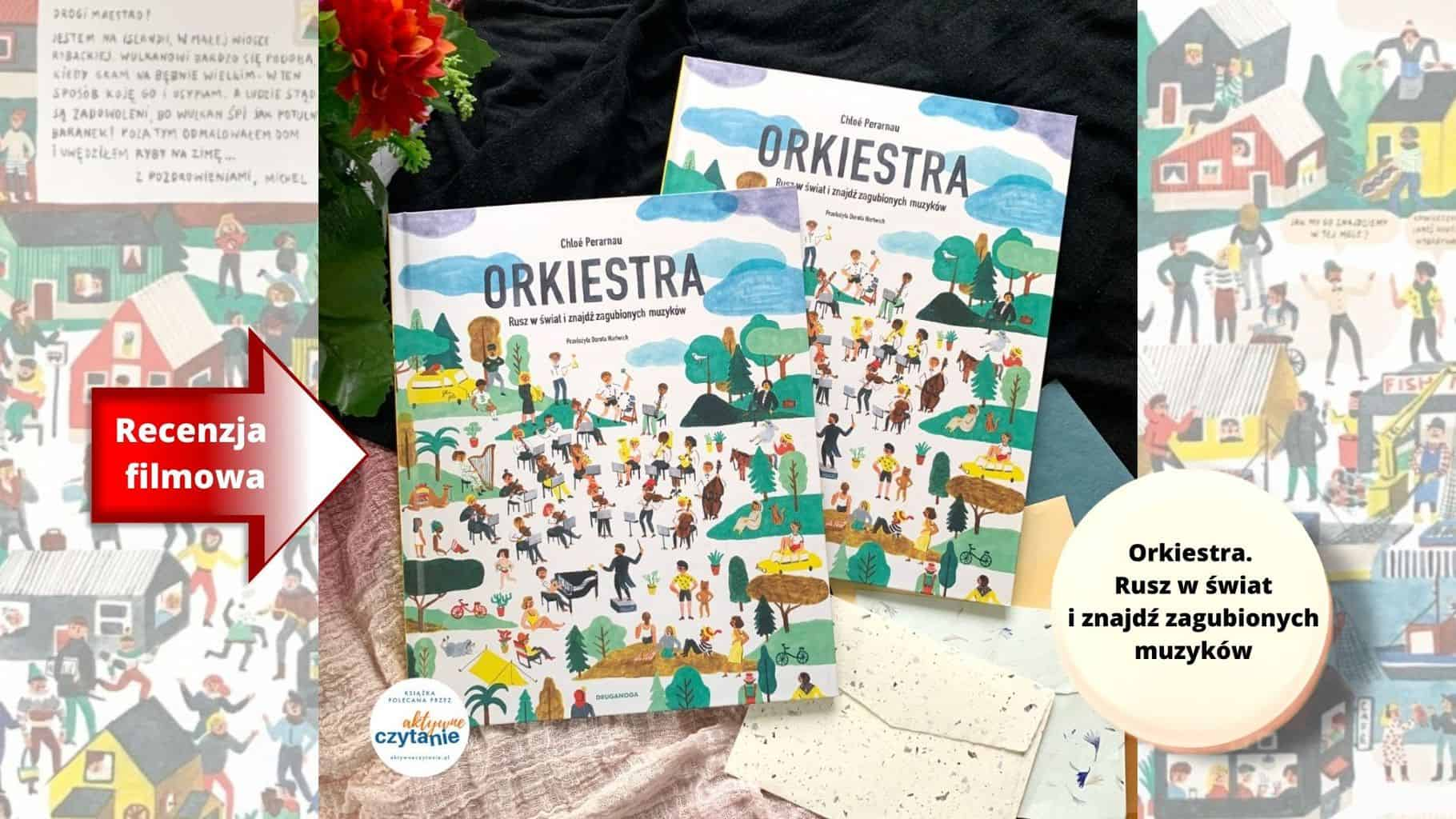 ksiazka wyszukiwanka orkiestra rusz wswiat ksiazki dla dzieci