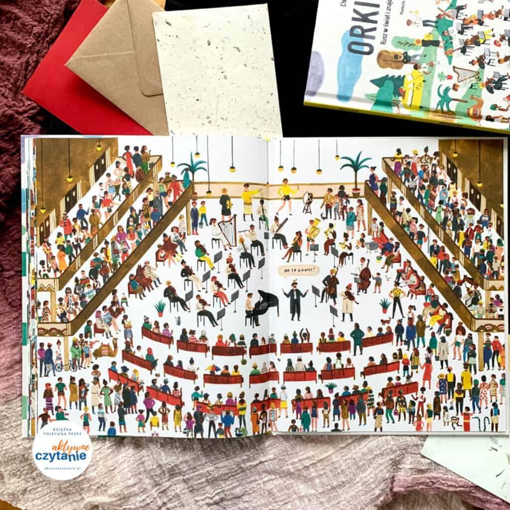 ksiazki dla dzieci orkiestra rusz wswiat iznajdz wyszukiwanka dla dzieci recenzja 12