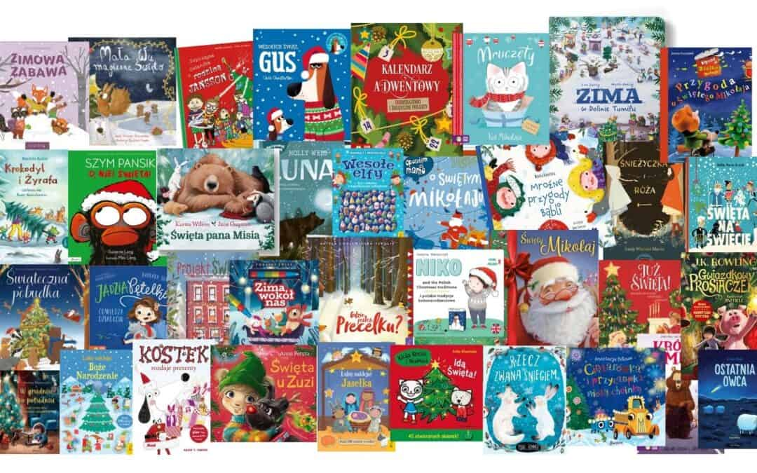 Zapowiedzi 2021. Książki dla dzieci ozimie, Bożym Narodzeniu, Mikołaju
