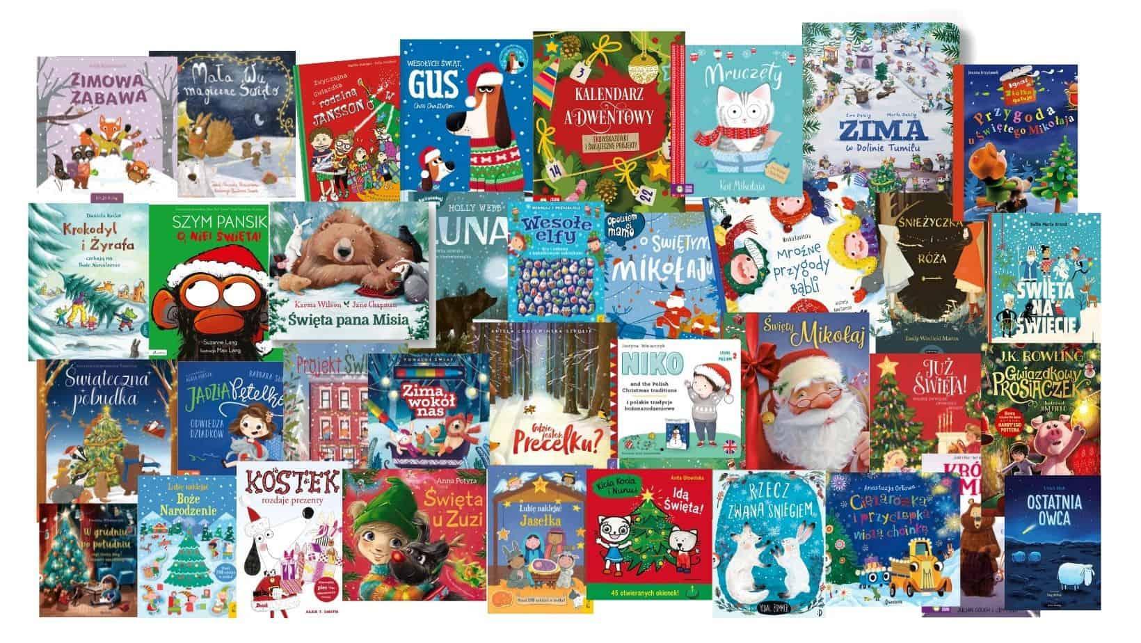 ksiazki dla dzieci zima swieta boze narodzenie 2021