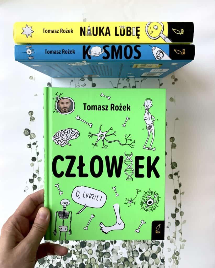 nauka tolubie recenzja czlowiek kosmos edukacyjne ksiazki dla dzieci imlodziezy