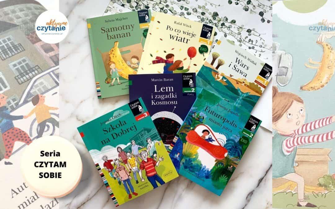 """Książki donauki czytania. Seria """"Czytam sobie"""""""