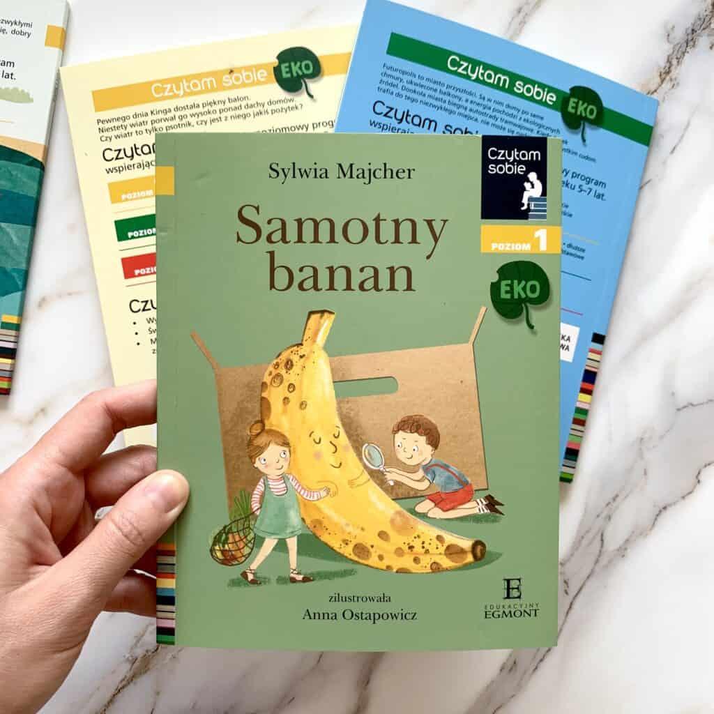 samotny banan ekologia ksiazki donauki czytania seria czytam sobie recenzja