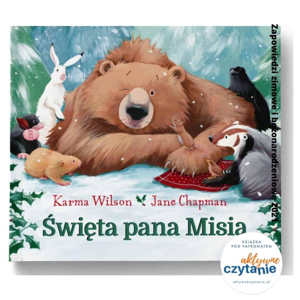 swieta pana misa recenzja ksiazki dla dzieci zapowiedzi 2021