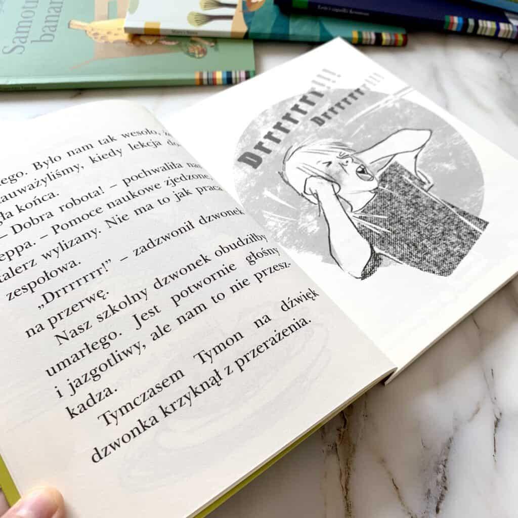 szkola nadobrej mizofonia ksiazki donauki czytania seria czytam sobie recenzja