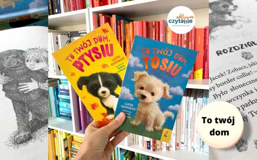 """Seria książek """"To twójdom"""". Uczy rozumieć zachowania zwierząt"""