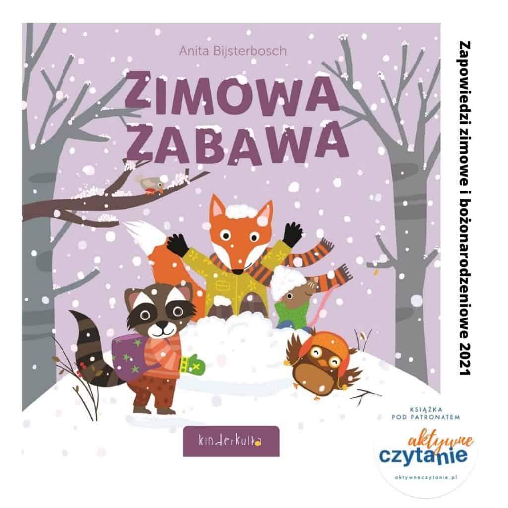 zimowa zabawa zapowiedzi ksiazki dla dzieci