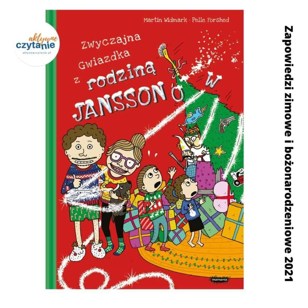 zwyczajna gwiazdka zrodzina jansson zapowiedzi ksiazki dla dzieci zima 2021