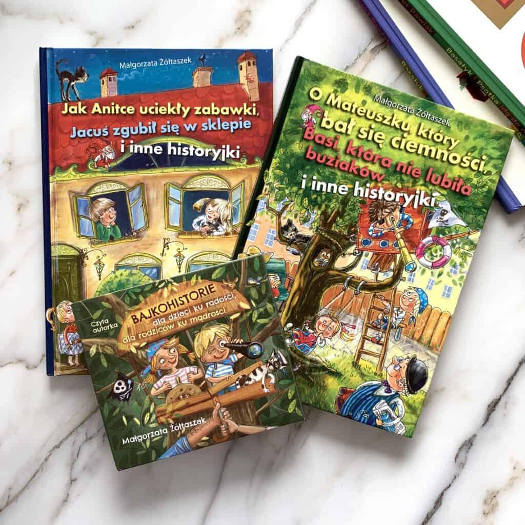 bajkohistorie jak anitce uciekly zabawki recenzja ksiazki dla dzieci