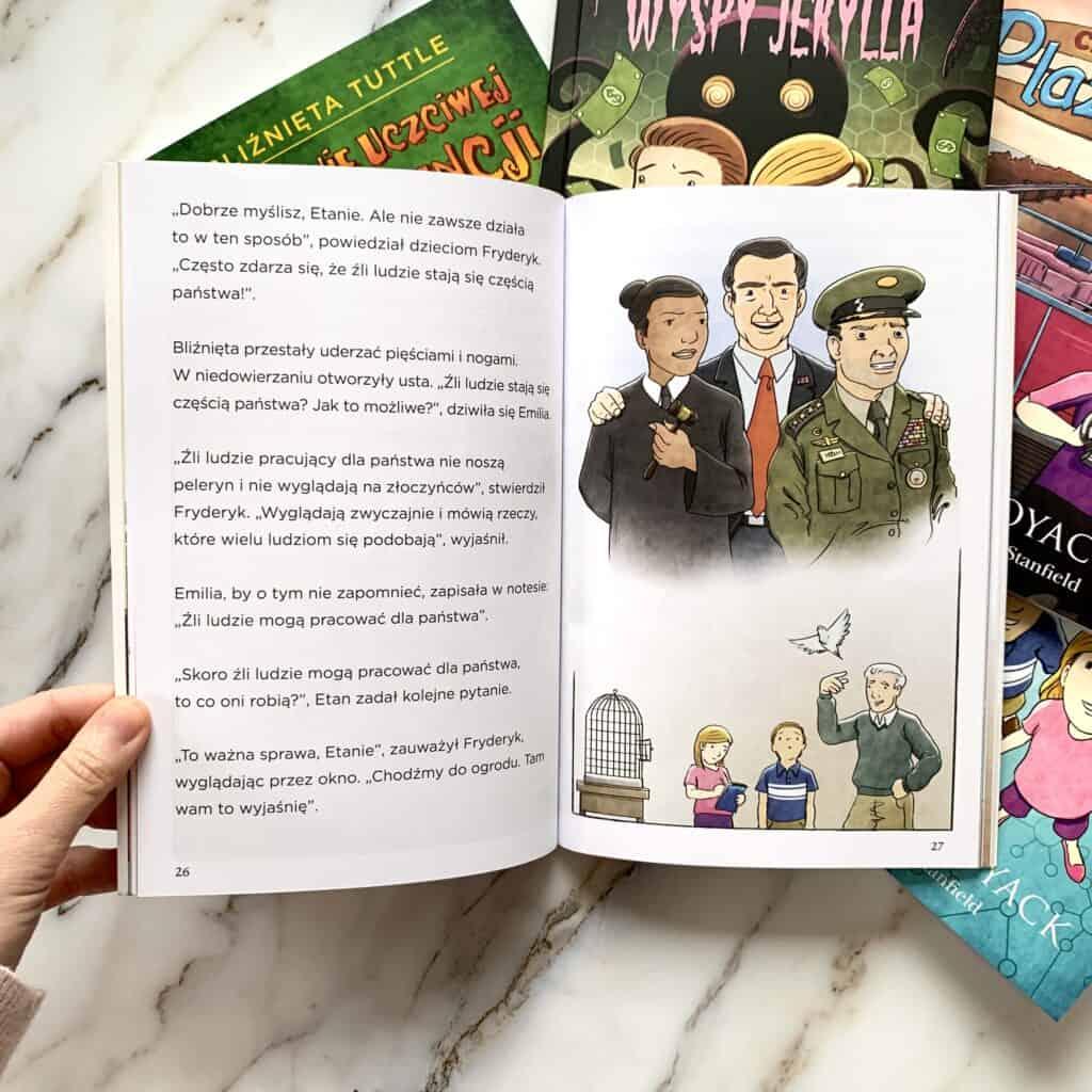 bliznieta tuttle poznaja prawo recenzja ksiazki dla dzieci 5-12 lat