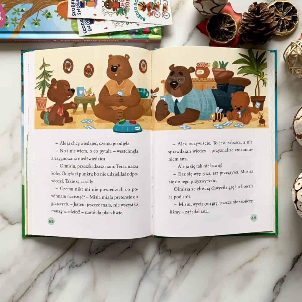 niedzwiedzi swiat olmisi recenzja ksiazki dla dzieci aktywne czytanie20