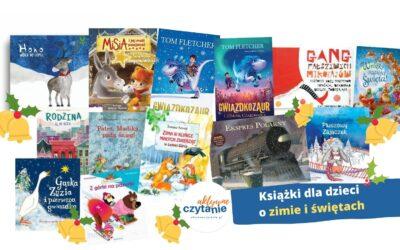ZIMA wksiążkach dla dzieci naBoże Narodzenie iMikołaja