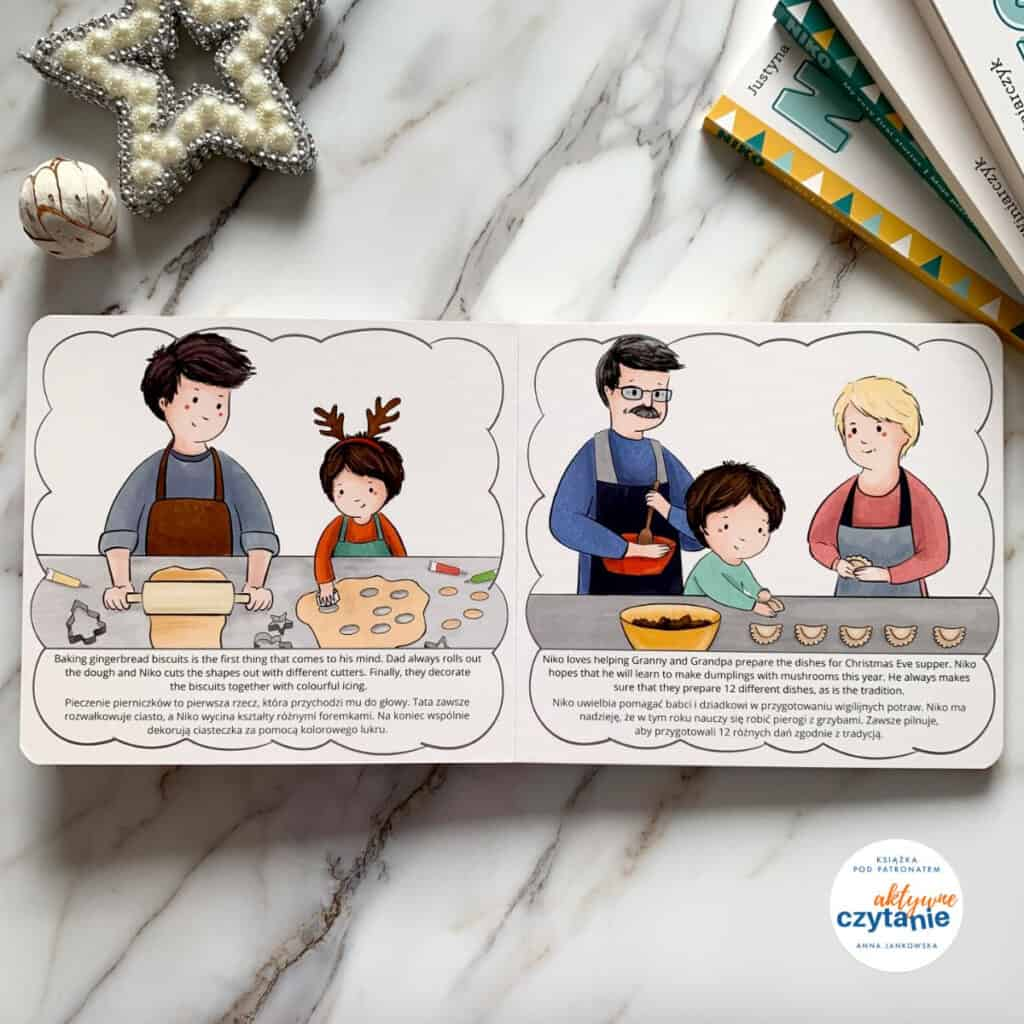 niko ipolskie tradycje bozonarodzeniowe recenzja kartonowe ksiazki dla dzieci
