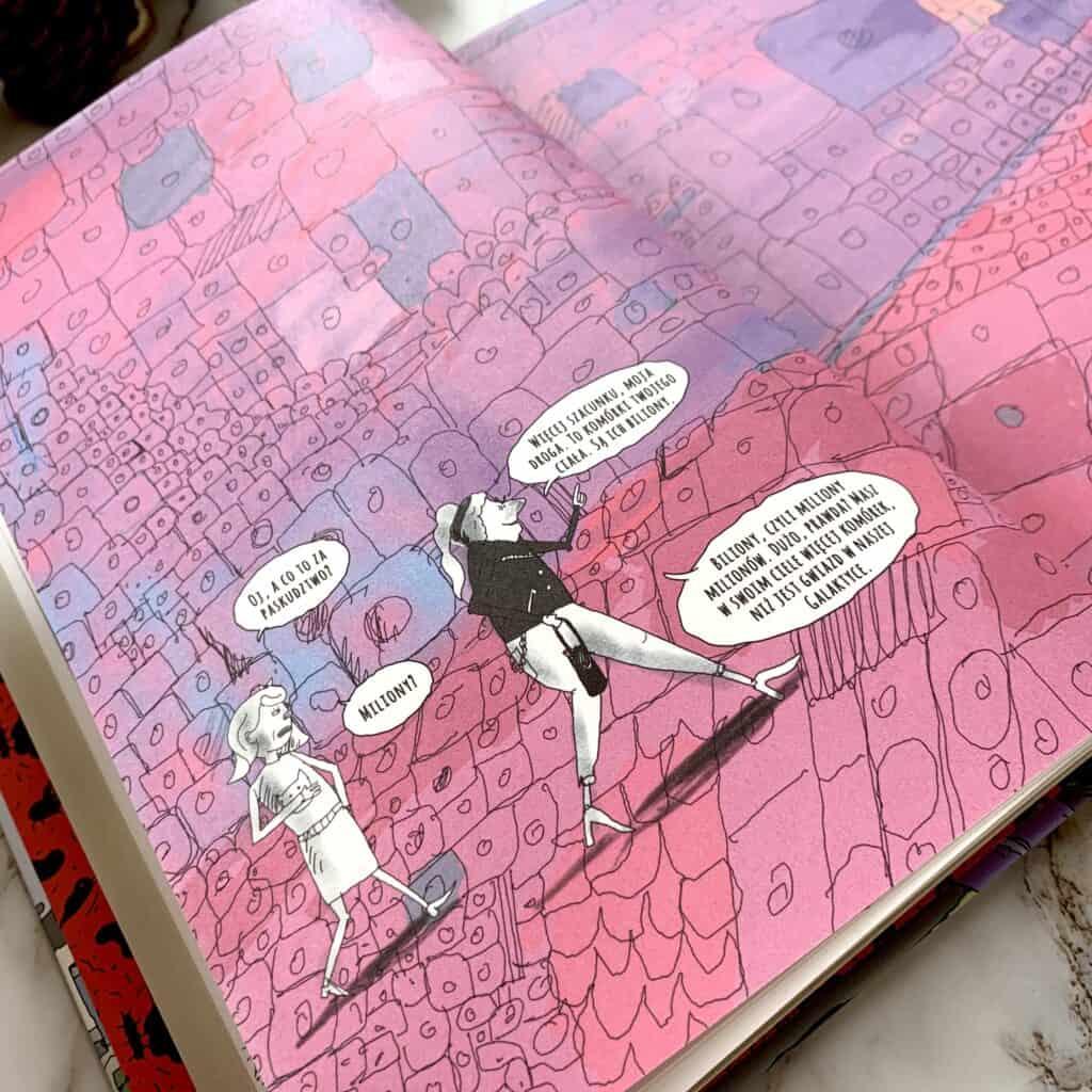o choroba komiks charytatywny recenzja ksiazki dla dzieci imlodziezy bialaczka