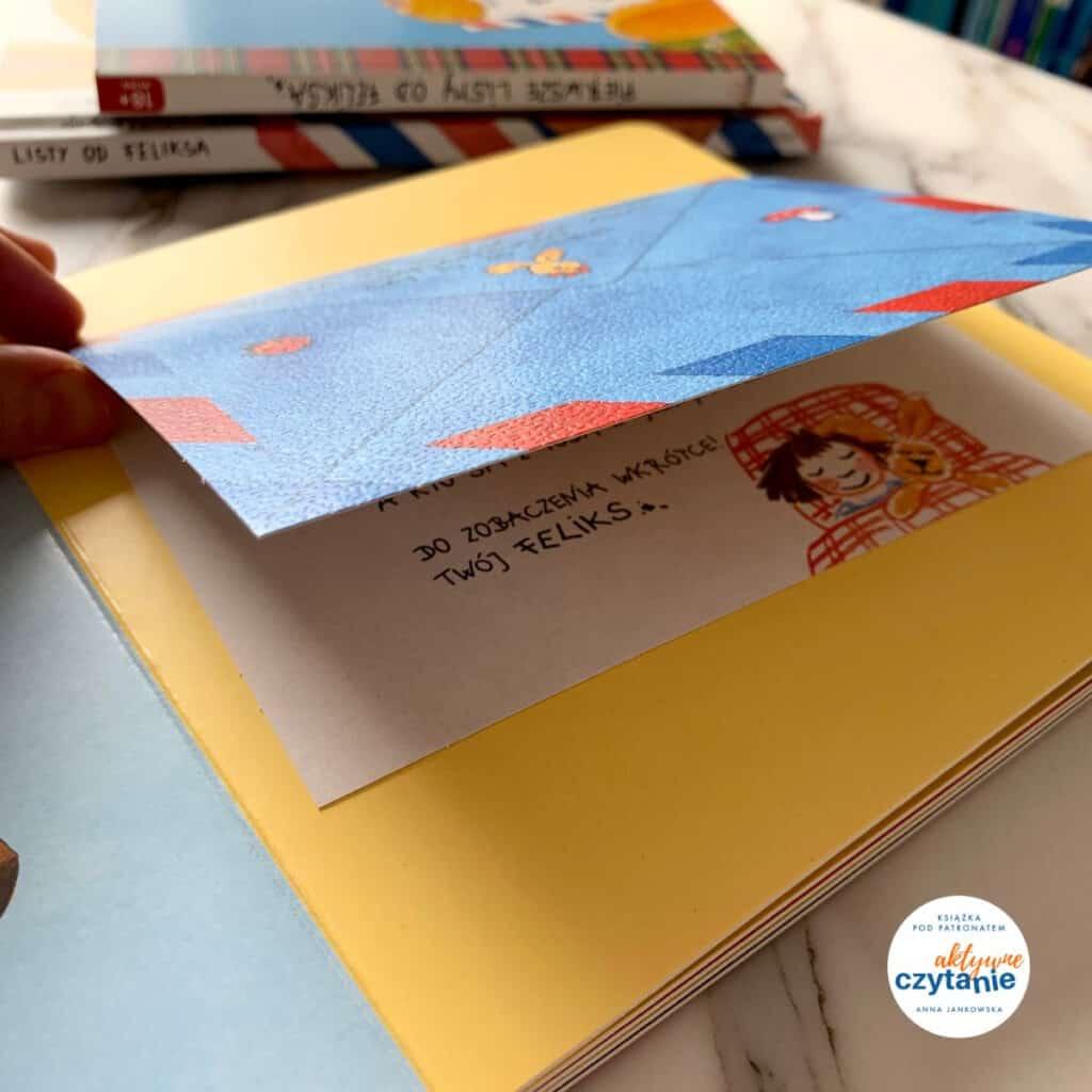 pierwsze listy odfeliksa recenzja ksiazki dla dziec