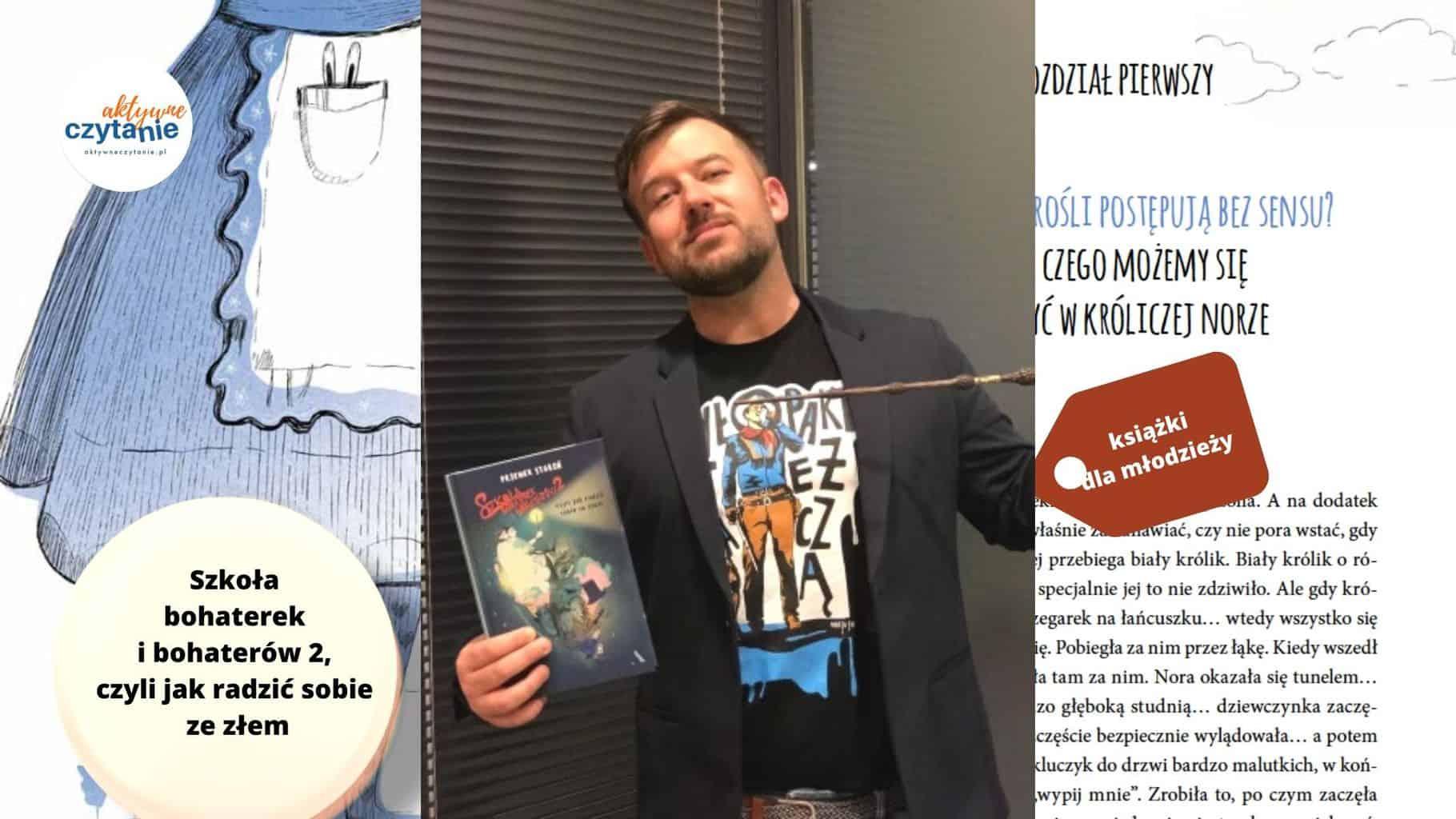 szkola bohaterek ibohaterow 2 czyli jak radzic sobie zezlem recenzja ksiazki dla dzieci imlodziezy1